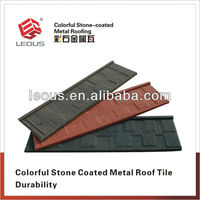 Colorful Sand Coated Metal Roof |Colorful Stone Coated Steel Roof Tile
