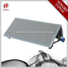 China aluminum escalator step For escalator cost part