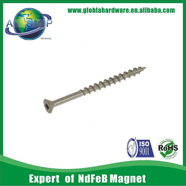 stainless steel custom made dowel screw