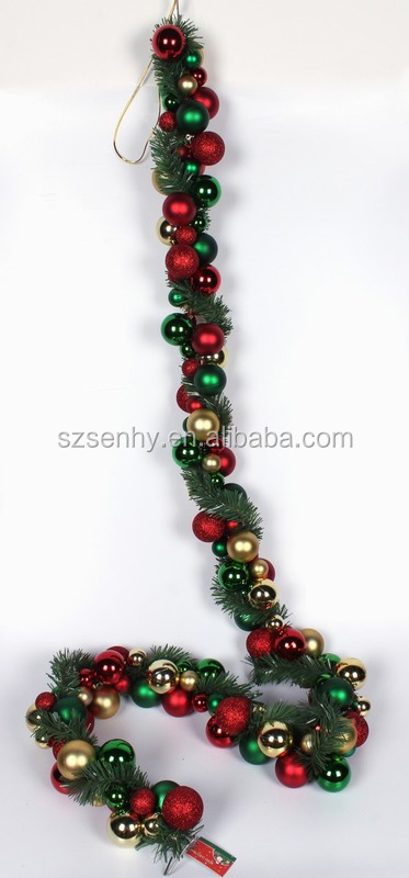 High Quality Outdoor Lighted Garland With Uv Protection