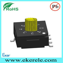 Eker SMD 8 position Rotary BCD Switch