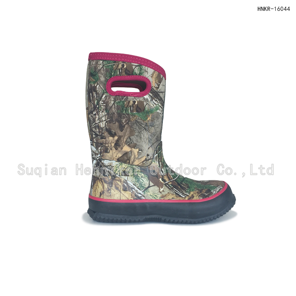 11'' Youth Camouflage Hunting Boot
