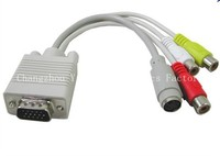 15pin Vga cable to rca jack YY-H5012 white