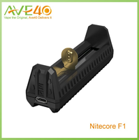 new Nitecore F1 Charger Compatible With 26650/18650/17670/18490/17500/17335/16340(RCR123)/14500/10440 Battery