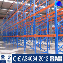 Jracking Cold Storage Blue And Orange Shelving Pallet Rack For Sale