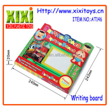 2016 Wholesale educational kids mini cartoon toy magnetic writing board