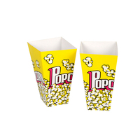 Strength manufacturers spot supply 30 styles popcorn boxes
