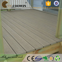 Plastic wood composite fireproof deck floor covering