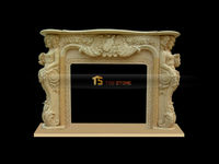 indoor used fireplace mantel