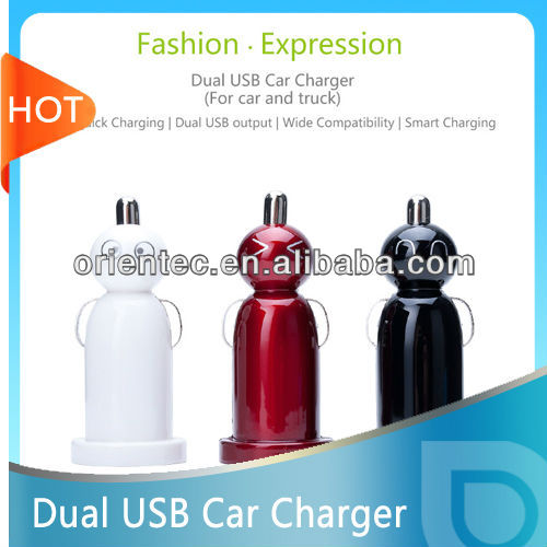 For iphone 5 Dual USB 2.1A car battery charger