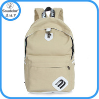 Fashion cheap canvas simple backpack school bags ,active Popular OEM/ODM college bags for girls