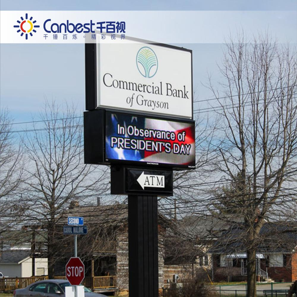 High brightness outdoor led display billboard video electronics display 16x16 dot matrix led display
