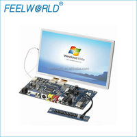 Touch screen display panel TFT LCD 8 inch with HDMI VGA AV input