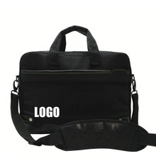 2016 new design high quality polester and leather laptop computer bag