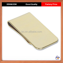 Wholesale Factory Price High Quality Gold Money Clip