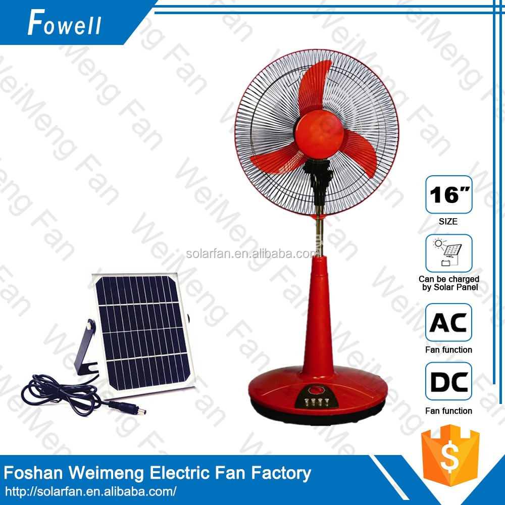 Best Brand Factory Promotion Price China Rechargeable Table Fan