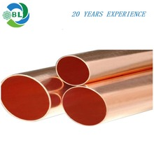 custom high pressure air conditioning straight copper pipe