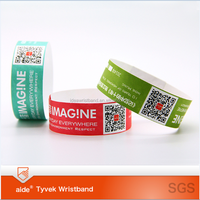 Party favor event party item type and event party suppliers type promotional tyvek wristbands