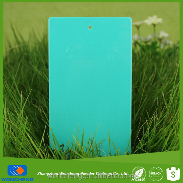 Turquoise Glossy Electrostatic Powder Paint