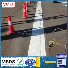 Liquid Cold Plastic Acryli Main Raw Material traffic paint