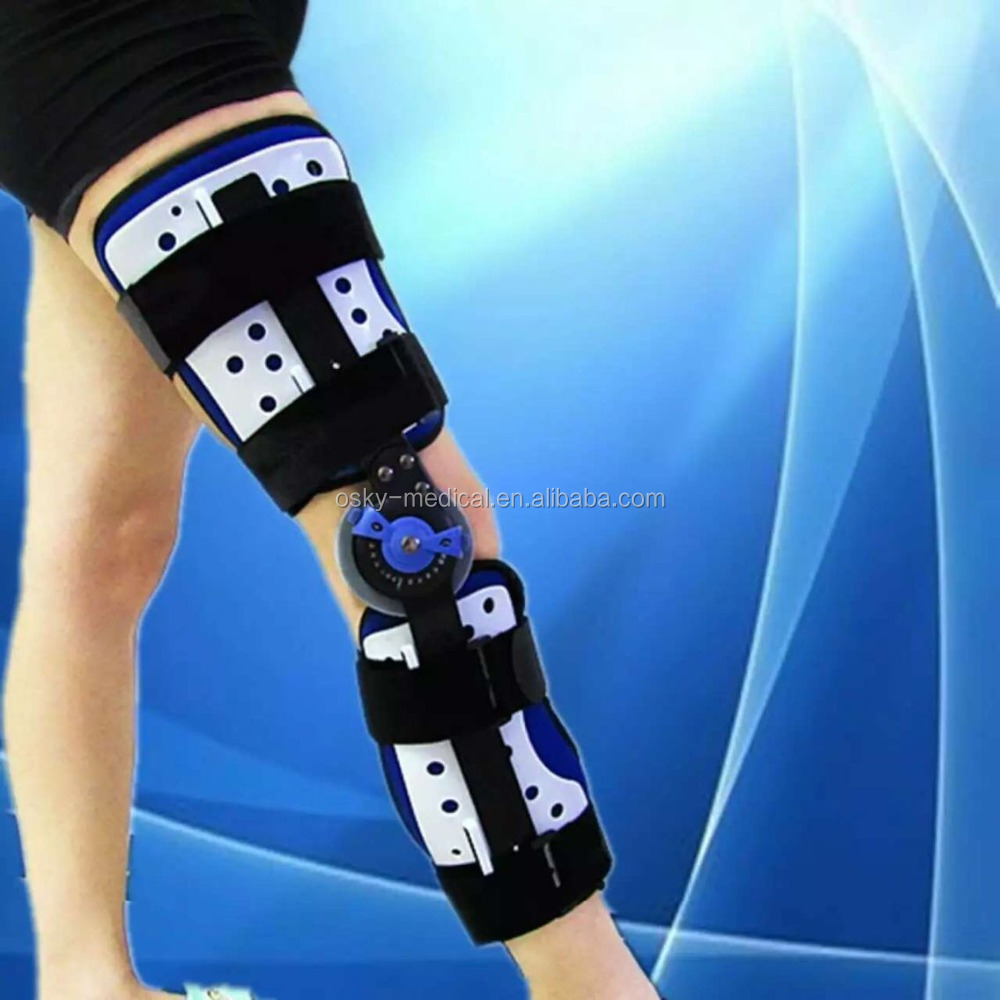 Osky Hospital used hinged orthopedic knee brace / knee support