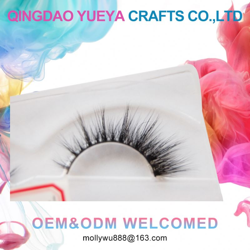 Custom Eyelash Packaging Chinese New 3d Mink Eyelashes