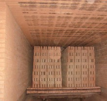 Gas fired clay brick tunnel kiln for sale