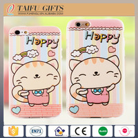 Customized wholesale fashion cartoon silicone waterproof cell phone case