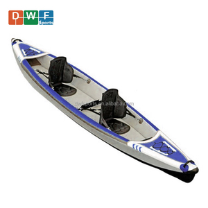 Popular single or double seats drop stitch inflatable folding kayak