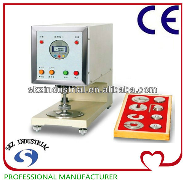 Digital Fabric Thickness Meter measure thickness