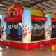 Cowboy Inflatable shooting ball pool and gun cannon