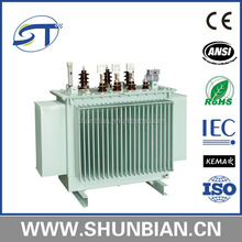 11kv 415v 160kva oil immersed power transformer price competitive S9 series electrical transformer