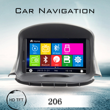 Hot selling Touch Screen Car DVD Player for Peugeot 206 with Russian Spanish language