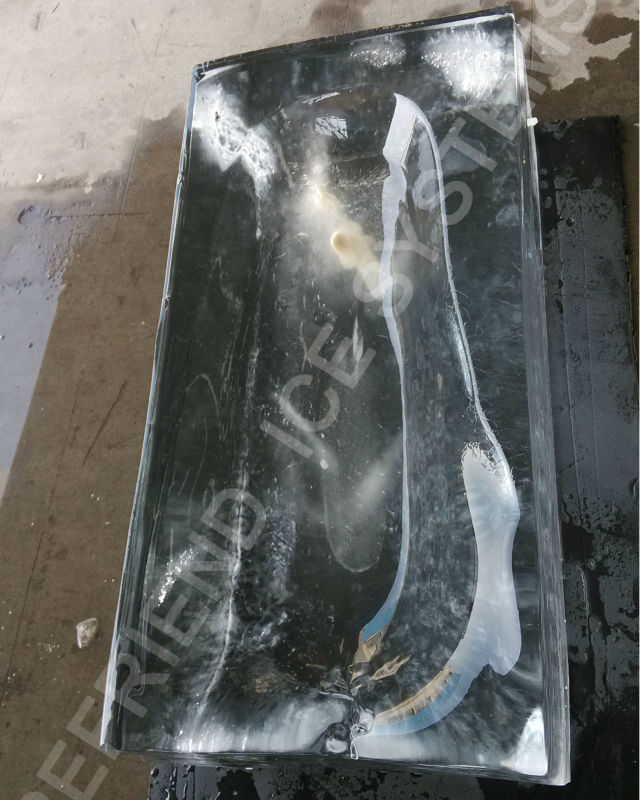 Transparent Block Ice Machine Clear Ice