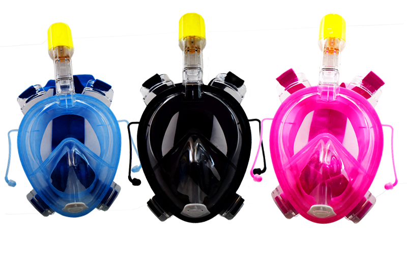 2017 Innovative Product Ideas Training Mask 180 Degree Full Face Snorkeling Diving Mask