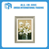 The high-grade flower pattern adornment wall painting for sitting room