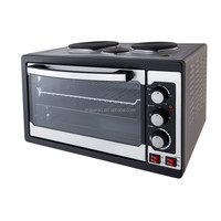 Electric oven kitchen appliance toaster oven with electric stove