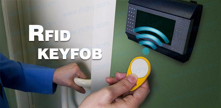 RFID key fobs EM4305 chip 125KHz rewritable read and write proximity ABS tags access control-AB25