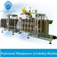 Instant food labeling machine stick labels on cup caps 0086-18917387699