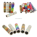 Toy promotional telescope lens kaleidoscope magic toy plactic kaleidoscope