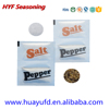 Seasoning Powder Packet .1-10gram Disposable waterproof Salt and pepper with Coated Pe Film