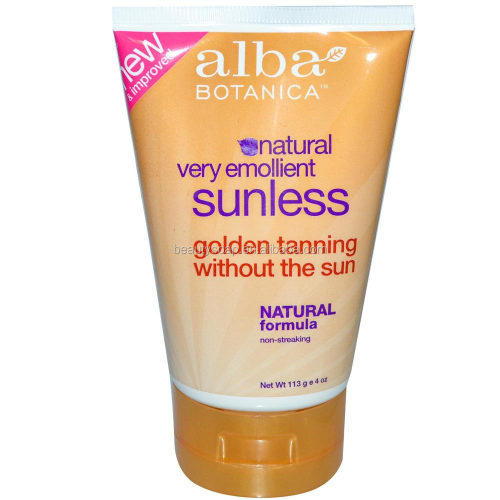 Natural Very Emollient Sunless Golden Tanning