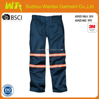 Security High Visibility Navy Work Pants
