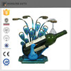 hot sell metal animal shape wine holder for home ornament