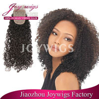 wholesale deep wave new style brazilian virgin human hair pirces for top of head, silk top lace closure