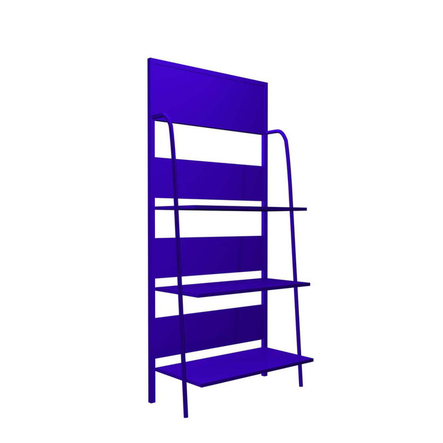 Silk screen printing metal brochure display racks