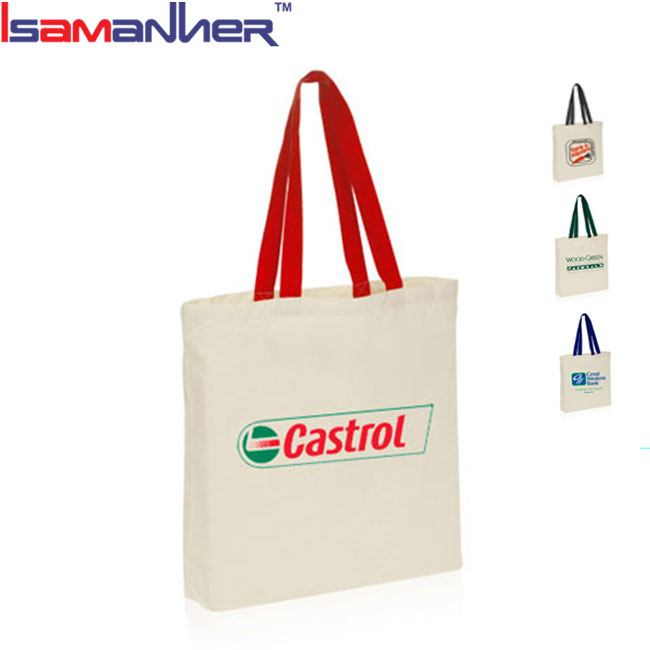 Alibaba supplier canvas convenient eco shopping bag, custom made shopping bags