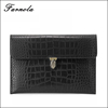 2015 Fashion and elegant leather Professional envelop clutch bag for women