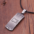 Street trend factory supply cheap custom High-quality stainless steel silver metal dog tag with chain