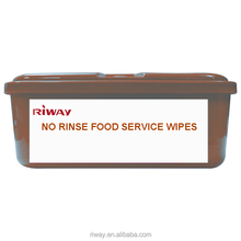 Super September Purchasing NO RINSE FOOD SERVICE WIPES
